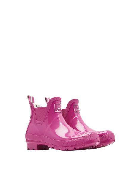 """Tom Joule Kurzgummistiefel """"Wellibob in pink mit Gloss"""""""