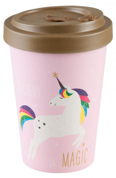 "To Go Becher ""Pink Unicorn"""