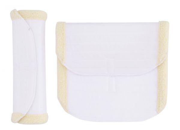 Bandagenunterlagen mit imitiertem Lammfell