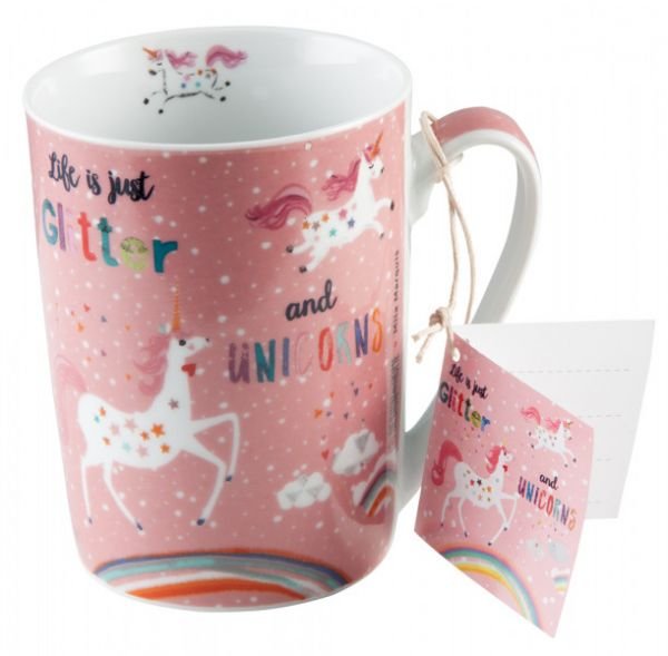 "Trinkbecher ""Glitter & Unicorns"""