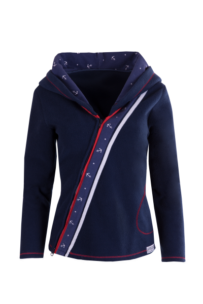 "For Champs Fleecejacke ""Seaside Adventure"""