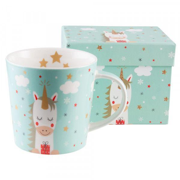 """Tasse """"Dreaming Unicorn"""" mit Geschenkbox"""