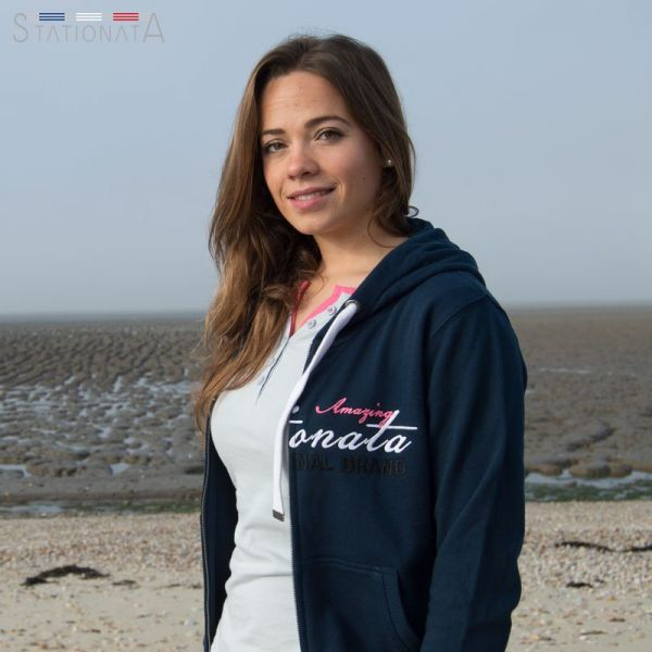 "Stationata Sweatshirtjacke""Superbe"""